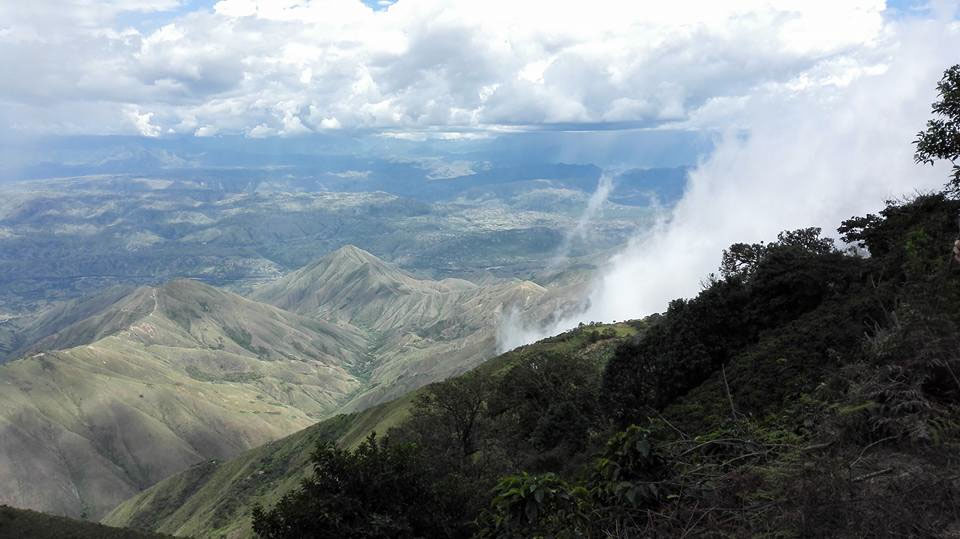 Photo 4: The steep mountains of Nariño (© Páez, 2016)