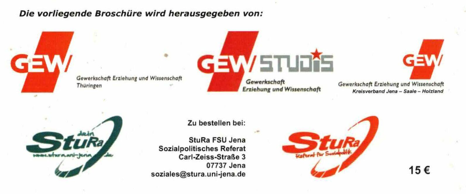 "Figure 6: The editors of the GEW brochure ""Dokumente"" (Documents), February 2011."
