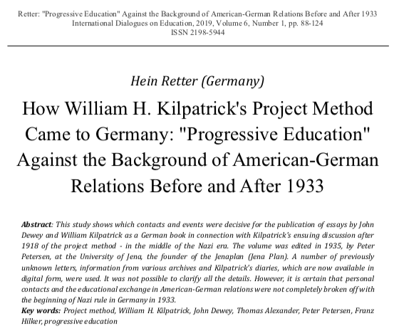 Figure 18: Front page of the essay by Hein Retter (2019), URL: IDE-2019-1-full.pdf, pp. 88-124.